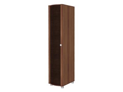 ШК-203 Шкаф для одежды и белья 2172х448х620 Слива Валлис - комбинированный