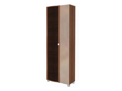 ШК-227 Шкаф для одежды 2172х712х396 Слива Валлис - комбинированный