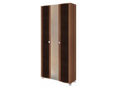 ШК-228 Шкаф для одежды и белья 2172х976х396 Слива Валлис - комбинированный