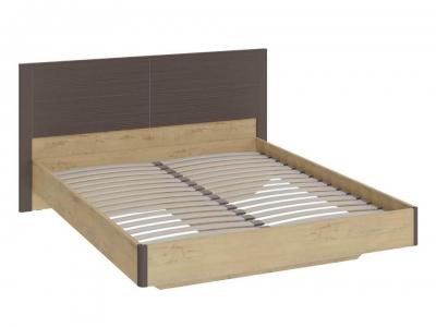 Двуспальная кровать Николь СМ-295.01.001 Бунратти, коричневый