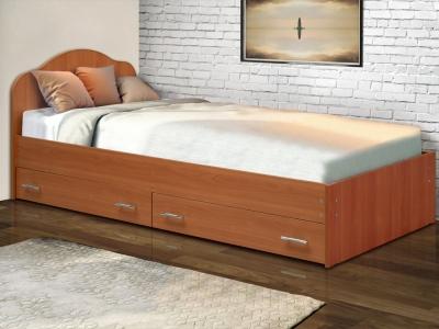 Кровать одинарная на уголках №3 с ящиками Матрица