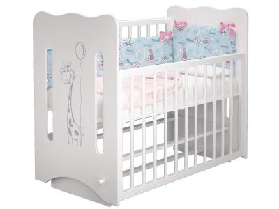 Кроватка детская Руслана 2 Жирафик с маятником