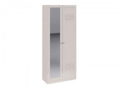 Шкаф для одежды с 1 глух. и 1 зерк. дверями Саванна СМ-234.22.03