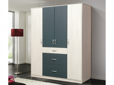 Шкаф 4-х дверный с 3-мя ящиками Венеция 6